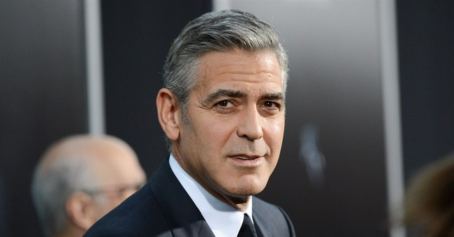 Website apologizes for Clooney mother-in-law story