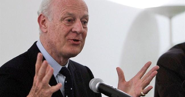 Diplomats: Staffan de Mistura is new Syria envoy