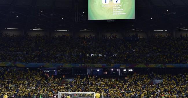 Brazilians struggling to explain loss to Germany