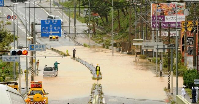 Tropical storm Neoguri hits Japan's main islands