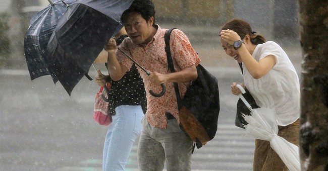 Tropical storm Neoguri hits Japan's main islands