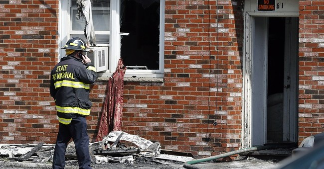Fireworks reports checked in deadly apartment fire