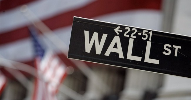 US stocks end lower after bank scare in Europe