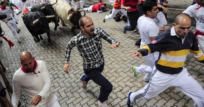 2 gored in 4th bull-run of Spain's San Fermin