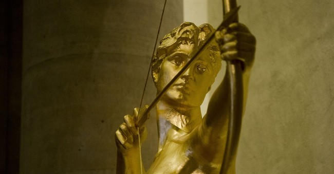 Philadelphia museum's golden goddess glows again