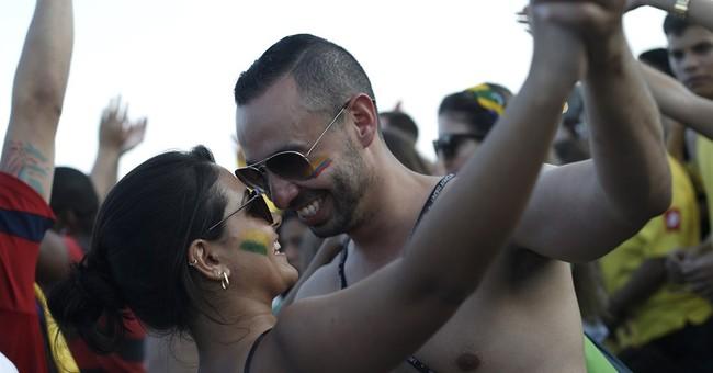 Brazilian women celebrate WCup bonanza of men
