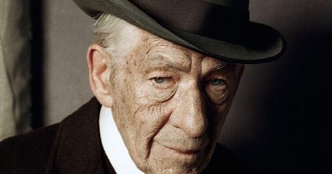 McKellen shares pic of him as 93-year-old Sherlock