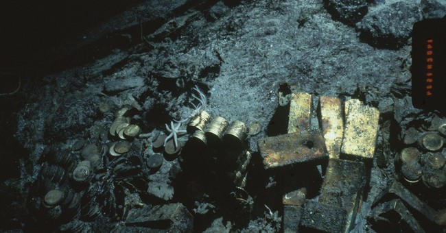 Ohio company wins rights to shipwreck's gold