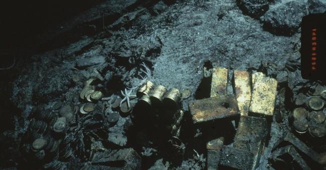 Ohio company wins rights to shipwreck's gold