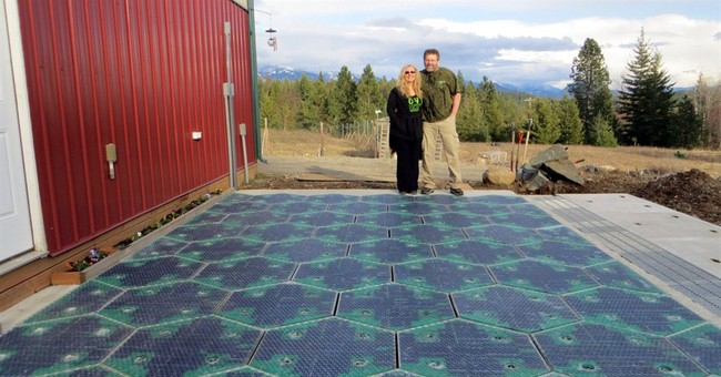 Inventor pushes solar panels for roads, highways