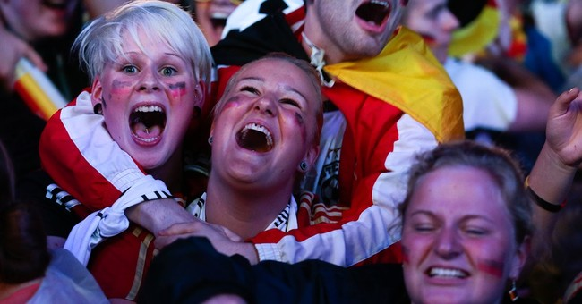 Back in final, Germany bolstered by national pride