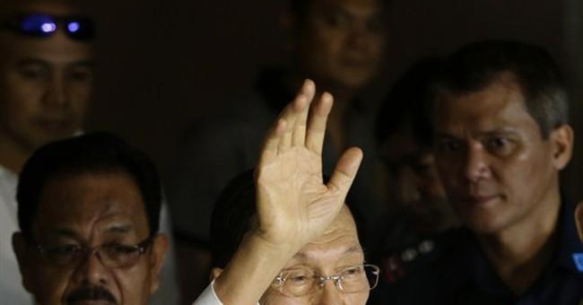 Manila court enters not-guilty plea for senator