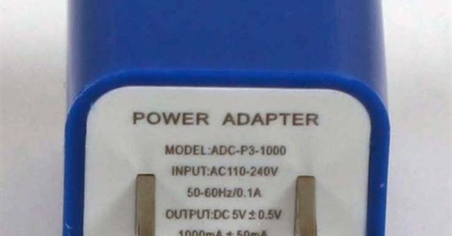 Recalls this week: power adaptors, knives