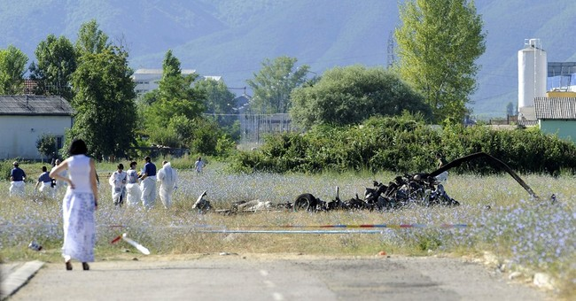 Police helicopter crashes in Macedonia, killing 4