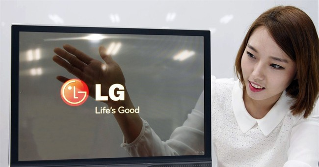 LG Display unveils 18-inch flexible display