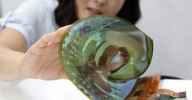 LG Display unveils 18-inch flexible display
