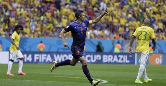 Netherlands beats host Brazil 3-0 to finish 3rd