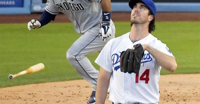Quentin's 3 RBIs help Padres beat Dodgers 6-3