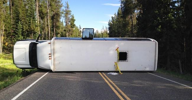 3 remain hospitalized after Grand Teton bus crash
