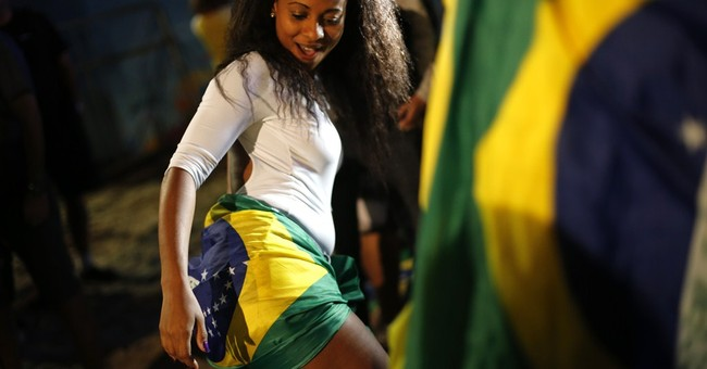 Dejected Brazilians watch another World Cup loss