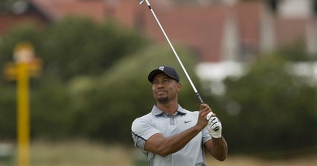 Tiger Woods returns to Royal Liverpool