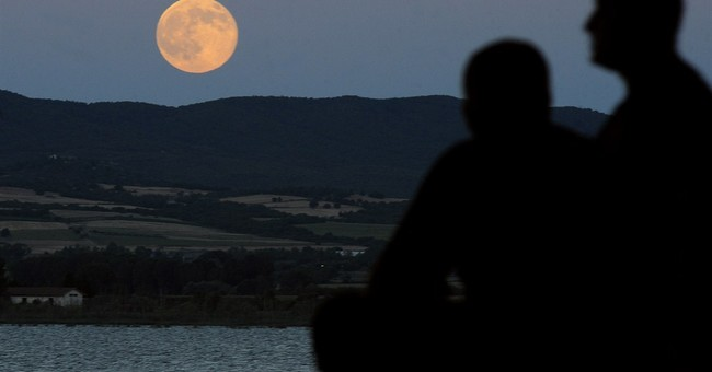 Heads up! Supermoon is here