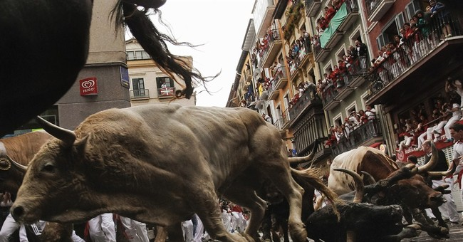 3 injured in 6th bull-run at Spain's San Fermin