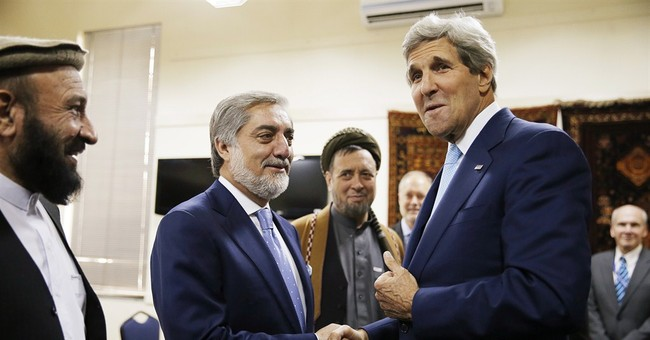 Afghan rivals clinch deal, easing political crisis
