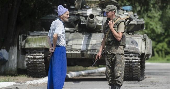 Russia: 1 killed near Ukraine border by shell fire