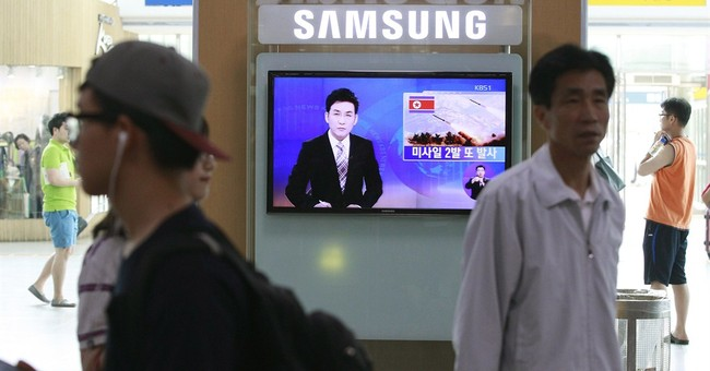 North Korea launches missiles in latest test-fire