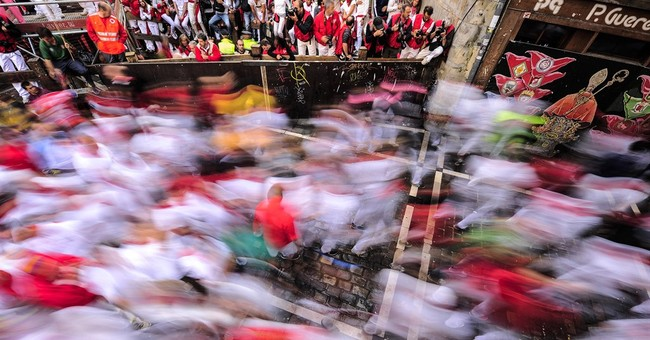 4 minor injuries at Spain's running of the bulls
