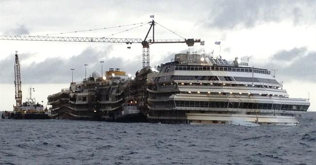 Search for body to follow Costa Concordia removal