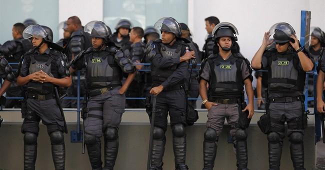 Dejected Argentine fans, elated Germans in Brazil
