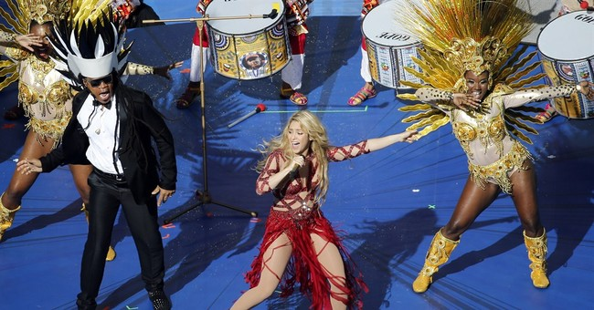 Stars of politics, sport, music at World Cup final