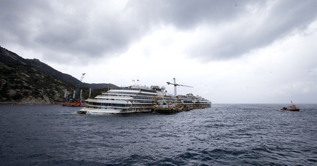 Search for body to follow Costa Concordia removal