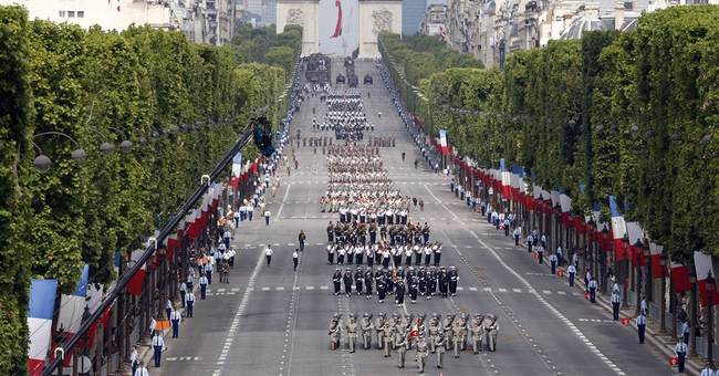 For Bastille Day, France commemorates World War I
