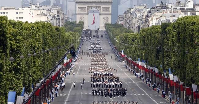 For Bastille Day, France commemorates World War I