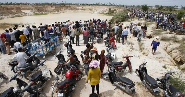 Copter crash kills 2 Cambodian military generals