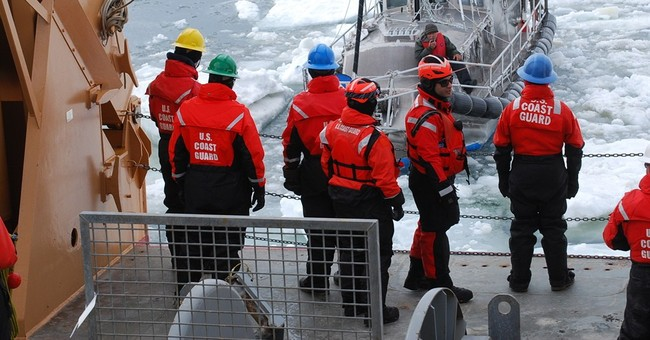 Coast Guard frees sailboat trapped in Arctic ice