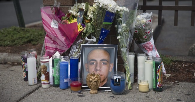 Sidewalk memorial honors New Jersey cop killer