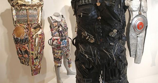 Artist creates 'empowering' wearable sculptures