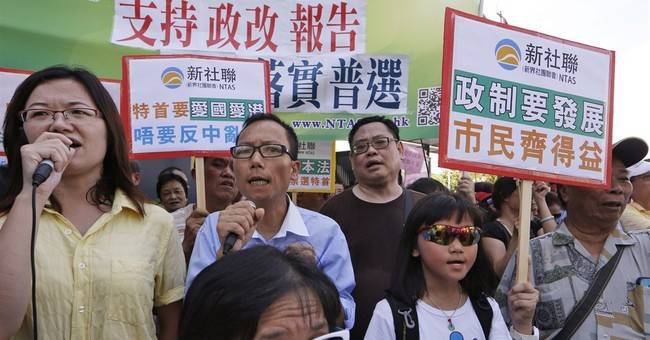 Hong Kong asks Beijing for greater democracy