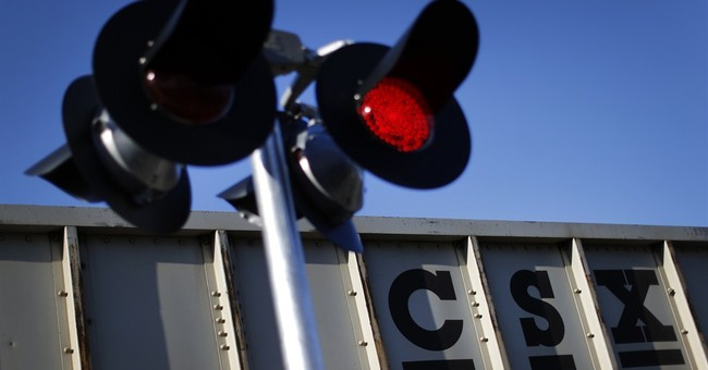 CSX railroad's 2Q profit chugs ahead 2 percent