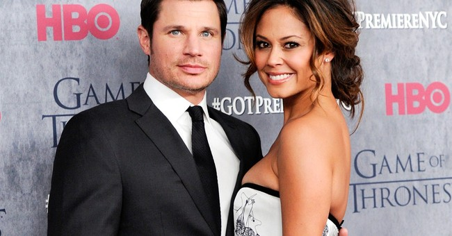 Nick and Vanessa Lachey see pink with baby No. 2