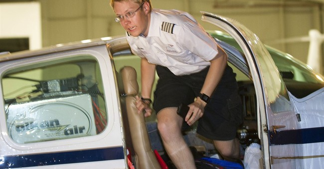 South Dakota teen finishes flight around the world