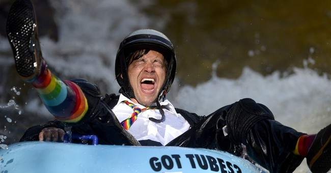 Boulder, Colorado, celebrates Tube To Work Day