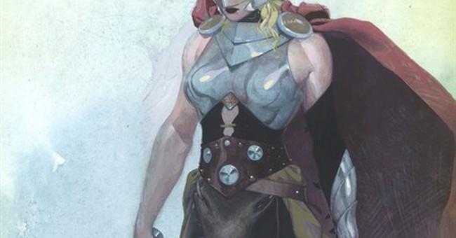 Marvel Comics makes Thor a thunder goddess