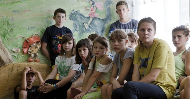Ukraine orphans become pawns in civil conflict
