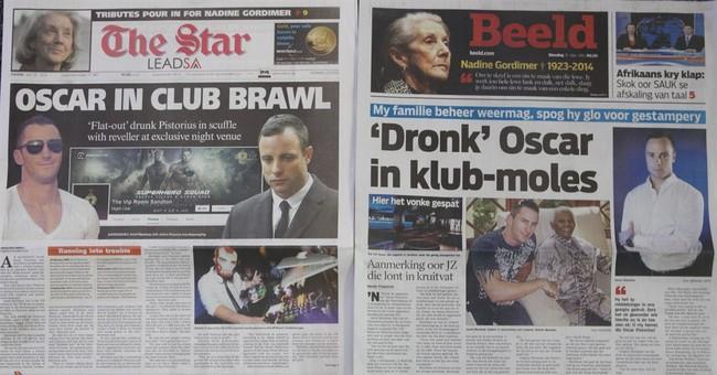 Pistorius gets into nightclub argument