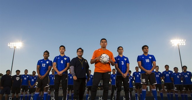 'Los Jets': A Latino soccer team, Southern town